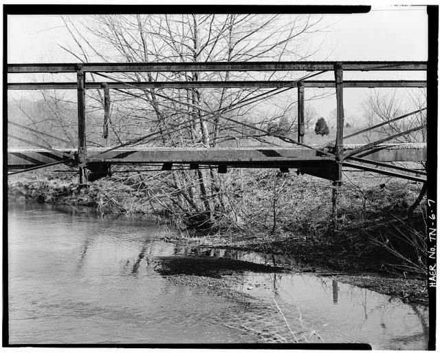 Weaver Road Bridge, Spanning Paint Rock Creek on Weaver Road (County Road A323), Kingston, Roane County, TN