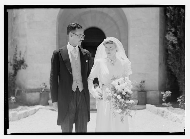 Wedding, Mr. Paton & Sister Sloan, June 23, '43