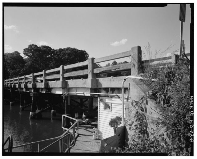 Weems Creek Bridge, Spanning Weems Creek at MD Route 436, Annapolis, Anne Arundel County, MD