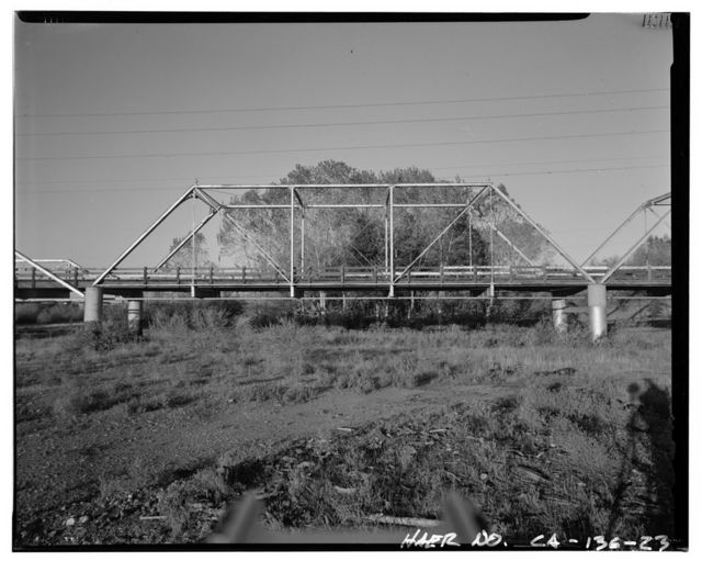 Weidemeyer Bridge, Spanning Thomes Creek at Rawson Road, Corning, Tehama County, CA