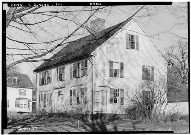 Welles-Shipman House, Station Street, South Glastonbury, Hartford County, CT