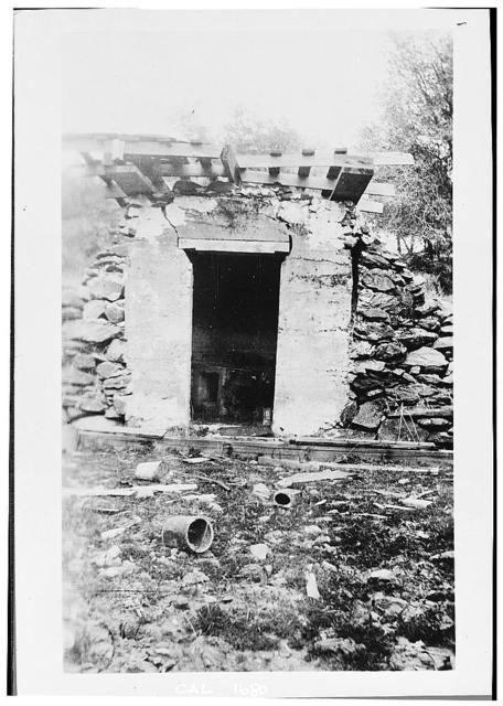 Wells Fargo & Company Vault (Ruins), Cherokee, Butte County, CA