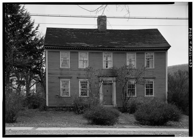 Wells-Thorn House, Old Deerfield Street & Memorial Road, Deerfield, Franklin County, MA