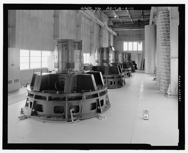 Wellton-Mohawk Irrigation System, Pumping Plant No. 1, Bounded by Gila River & Union Pacific Railroad, Wellton, Yuma County, AZ