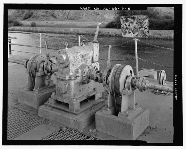 Wellton-Mohawk Irrigation System, Wasteway No. 1, Wellton-Mohawk Canal, North side of Wellton-Mohawk Canal, bounded by Gila River to North & the Union Pacific Railroad & Gila Mountains to south, Wellton, Yuma County, AZ
