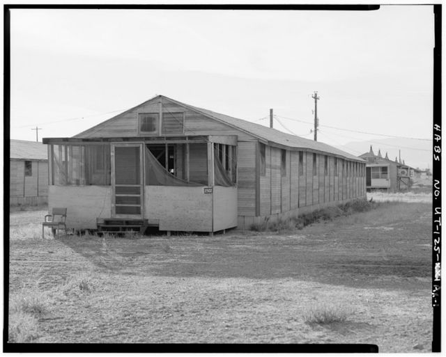 Wendover Air Force Base, Airmen's Dormitory, South of Interstate 80, Wendover, Tooele County, UT