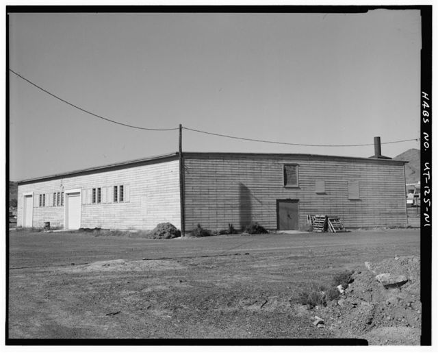 Wendover Air Force Base, Armament Inspection & Adjustment Building, South of Interstate 80, Wendover, Tooele County, UT