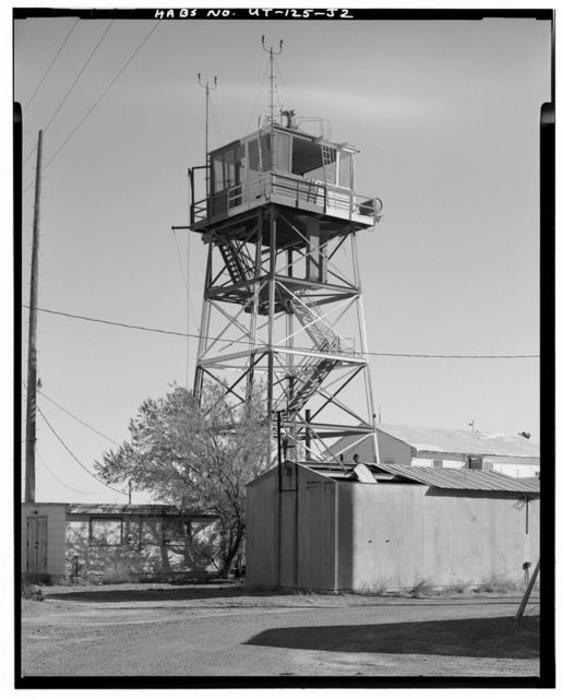Wendover Air Force Base, Control Tower, South of Interstate 80, Wendover, Tooele County, UT