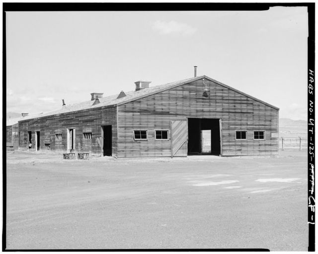 Wendover Air Force Base, Inert Bomb Warehouse, South of Interstate 80, Wendover, Tooele County, UT