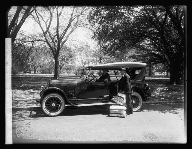 Wescott Car, Herald Booster run, 5/6/20