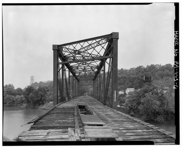 West Penn Bridge, Pennsylvania Railroad, spanning Allegheny River, Pittsburgh, Allegheny County, PA