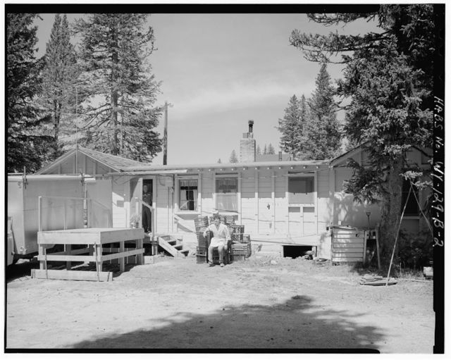 West Thumb Hamilton's Store, Mini Store, 250' southeast of General Store & 100' southeast of Ranger Station, West Thumb, Teton County, WY