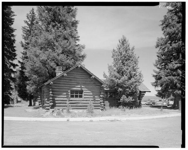 West Thumb Ranger Station, East of Old Faithful & north of Grant Village on Grand Loop Road, West Thumb, Teton County, WY