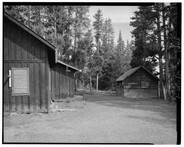 West Thumb Road Camp, 400' southwest of Ranger Station & 400' south of Hamilton's General Store, West Thumb, Teton County, WY