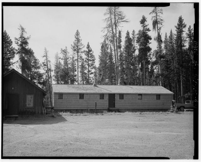 West Thumb Road Camp, Bunkhouse, 350' southwest of General Store & 375' east of Mini Store, West Thumb, Teton County, WY