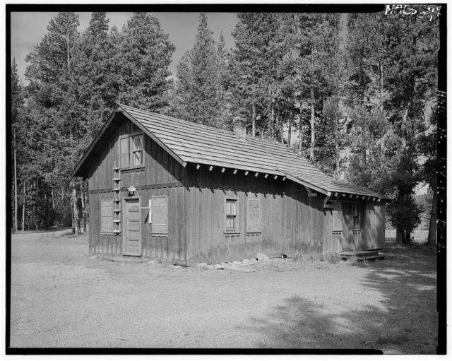 West Thumb Road Camp, Mess House, 10' west of Barn & 410' southwest of General Store, West Thumb, Teton County, WY