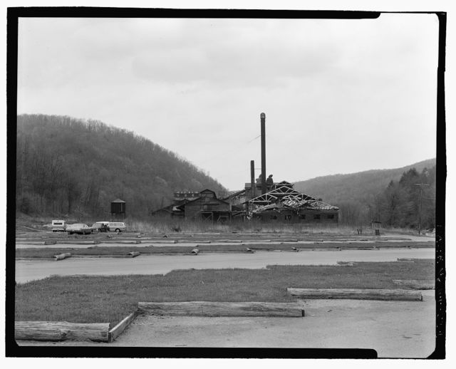 West Virginia Pulp & Paper Mill, Cass, Pocahontas County, WV