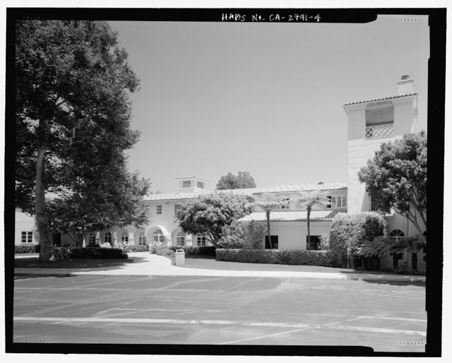 Westlake School for Girls, Dormitory, 700 North Faring Street, Los Angeles, Los Angeles County, CA