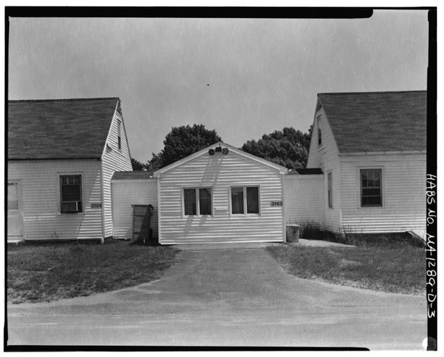 Westover Air Reserve Base, Building No. 3153, 19 Kelly Road, Chicopee, Hampden County, MA