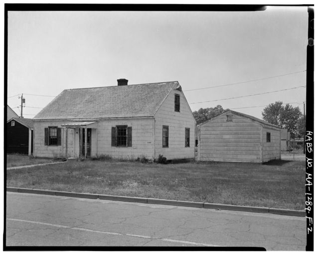 Westover Air Reserve Base, Building No. 3155, 15 Kelly Road, Chicopee, Hampden County, MA