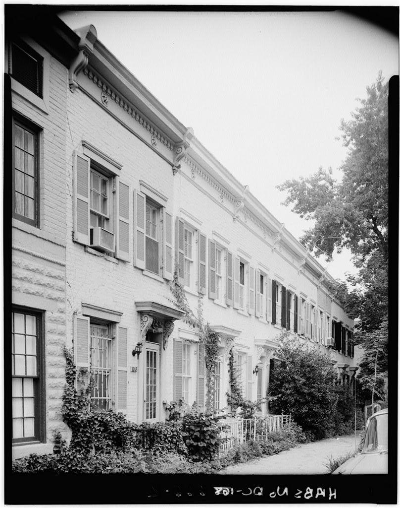 Wheatley Row House, 1018 Twenty-ninth Street Northwest, Washington, District of Columbia, DC