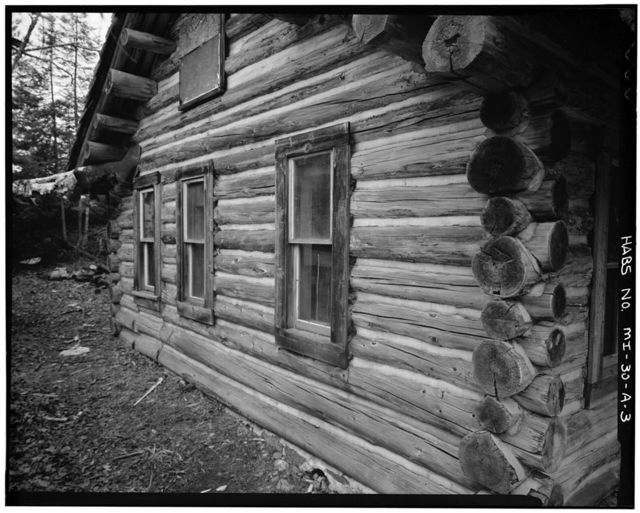 White Deer Lake Camp, Beaver Cabin, Cyrus H. McCormick Experimental Forest, Champion, Marquette County, MI