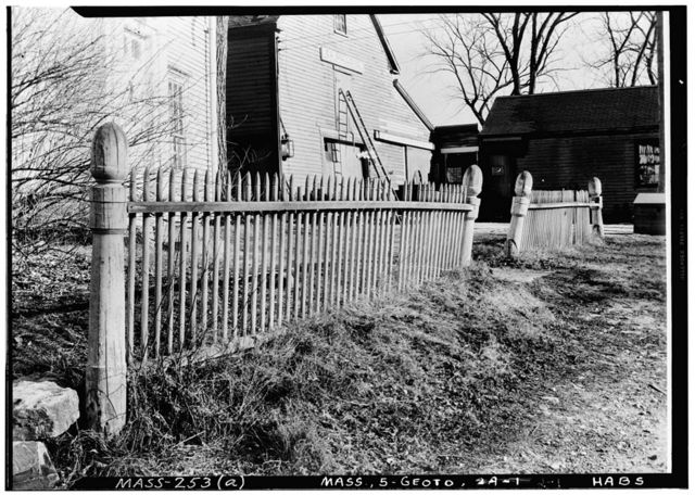 White Horse Tavern Fence, 108 East Main Street, Georgetown, Essex County, MA