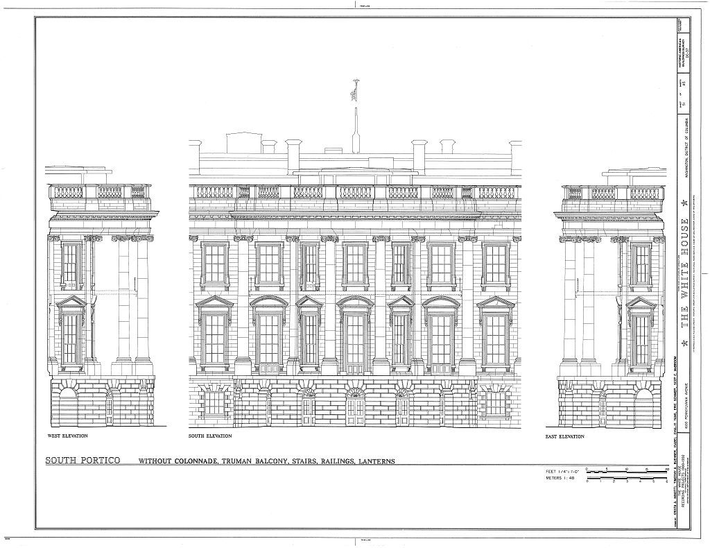 White House, 1600 Pennsylvania Avenue, Northwest, Washington, District of Columbia, DC