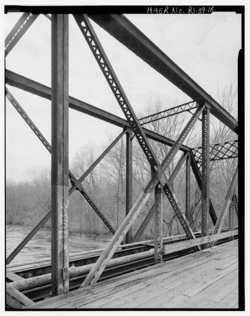 White Rock Bridge, Spanning Pawcatuck River & White Rock Canal, Westerly, Washington County, RI