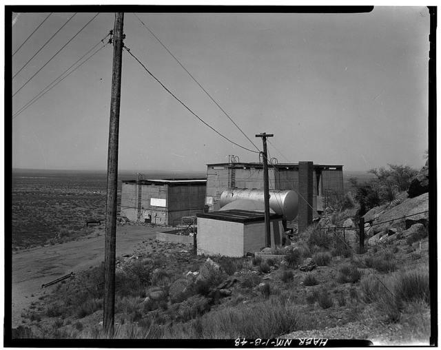 White Sands Missile Range, V-2 Rocket Facilities, Near Headquarters Area, White Sands, Dona Ana County, NM