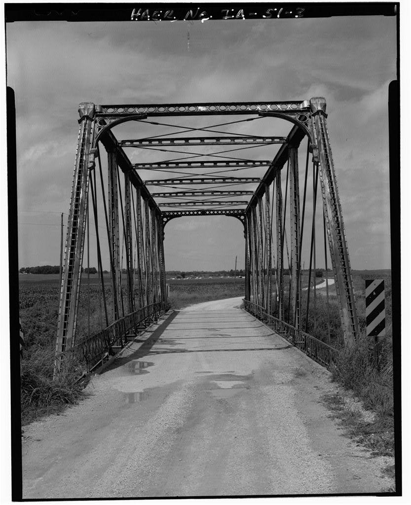 White Water Creek Bridge, Spanning White Water Creek, Bernard, Dubuque County, IA