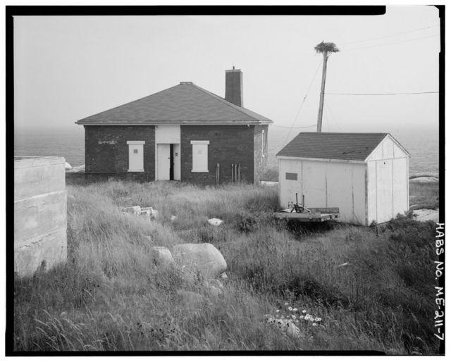 Whitehead Light Station, Whitehead Island, East northeast of Tenants Harbor, Spruce Head, Knox County, ME