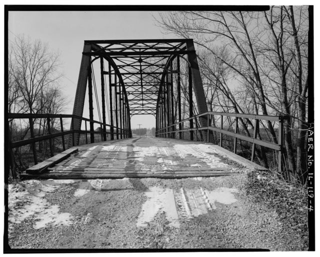 White's Ferry Bridge, Spanning Spoon River at Township Road 209, Blyton, Fulton County, IL