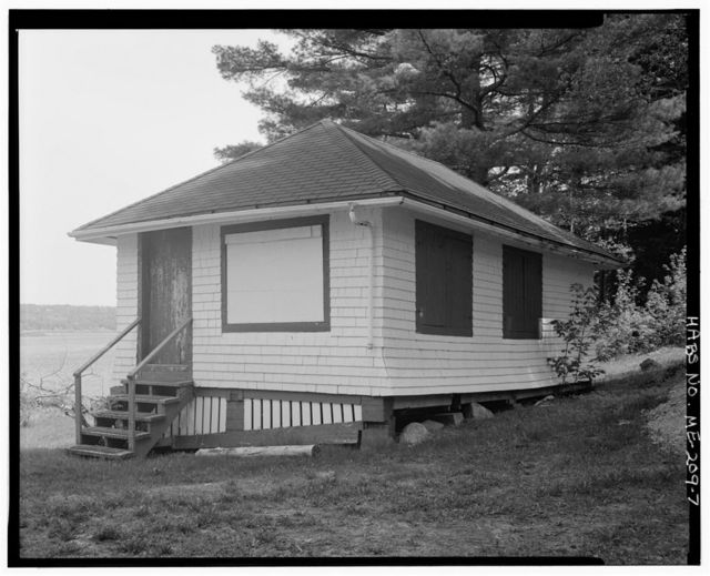 Whitlock's Mill Light Station, On south bank of St. Croix River, Calais, Washington County, ME
