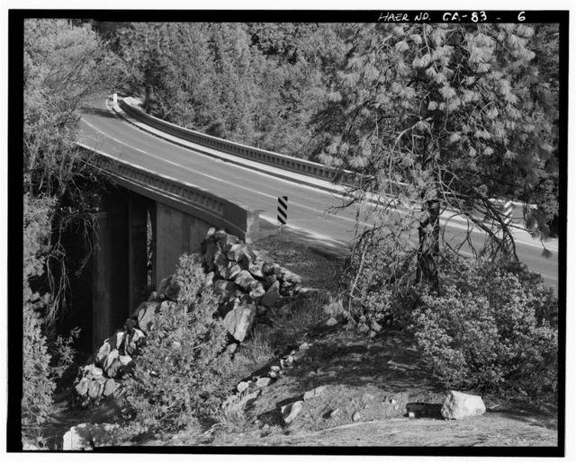 Wildcat Creek Bridge, Spanning Wildcat Creek on New Big Oak Flat Road, Yosemite Village, Mariposa County, CA
