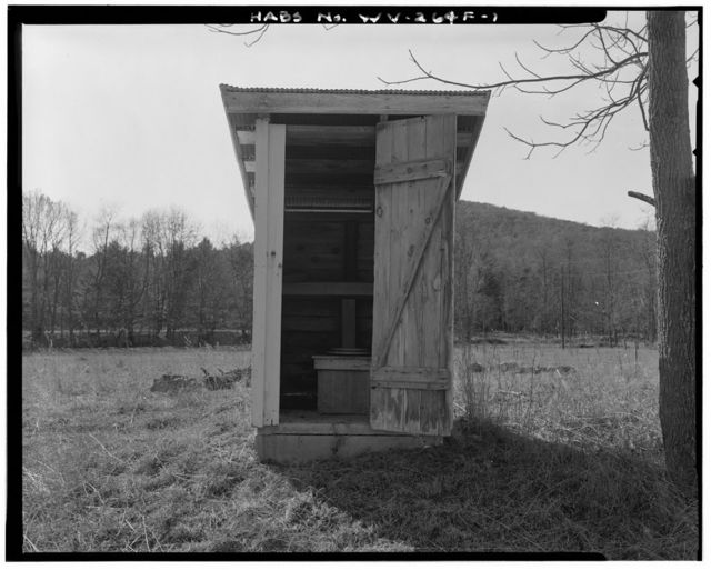 Wilkins Farm, Privy, South side of Dove Hollow Road, 6000 feet east of State Route 259, Lost City, Hardy County, WV