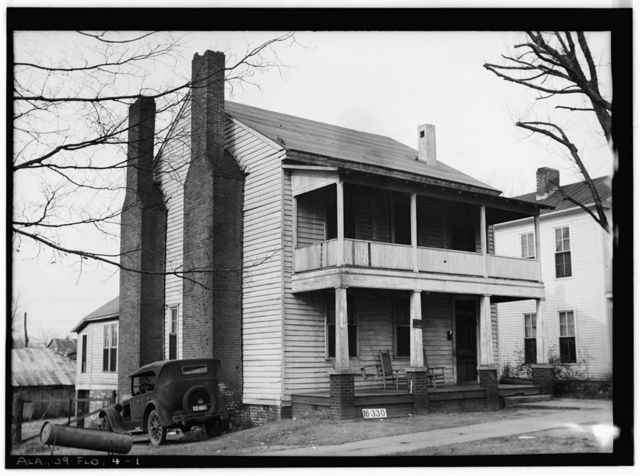 Will Simpson House, 112 South Pine Street, Florence, Lauderdale County, AL