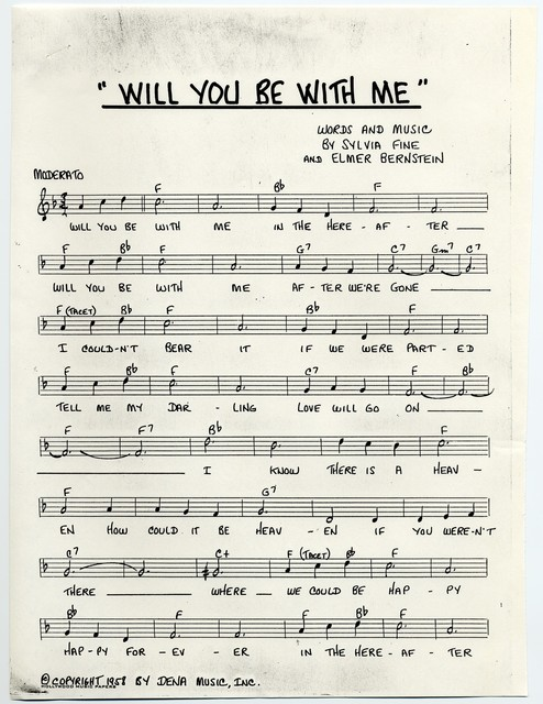 Will You Be With Me