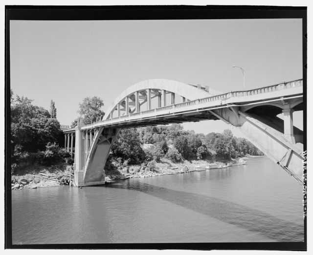 Willamette River Bridge, Spanning Willamette River on Oswego Highway 3, Oregon City, Clackamas County, OR