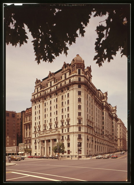 Willard Hotel, 1401-1409 Pennsylvania Avenue Northwest, Washington, District of Columbia, DC