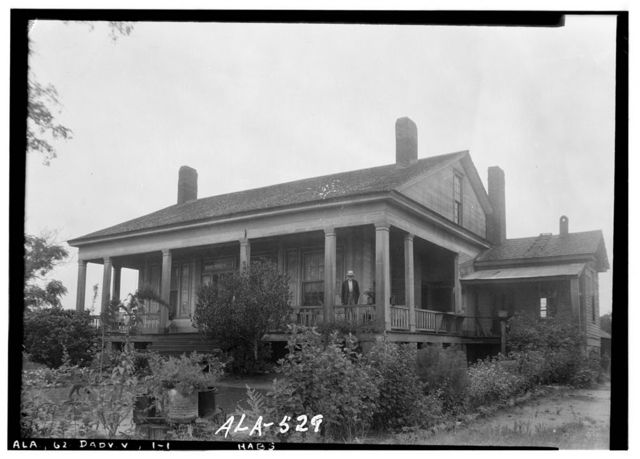 William A. Gardner House, Lafayette Highway (County Road 75), Dadeville, Tallapoosa County, AL