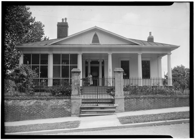 William A. Lake House, Main Street, Vicksburg, Warren County, MS