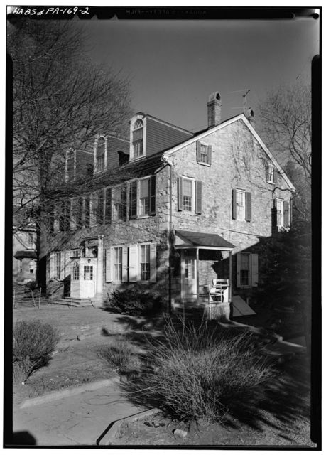 William A. Todd House, 330 East Lancaster Avenue, Downingtown, Chester County, PA