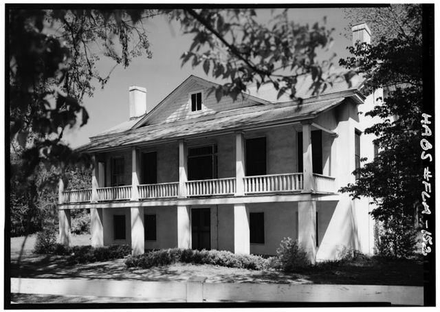 William & Hector Bruce House, U.S. Highway 90 (Chattahoochee Highway), Quincy, Gadsden County, FL