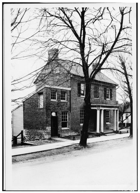 William & Sarah Nettle House, Second Street, between Patrick & Church Streets, Waterford, Loudoun County, VA