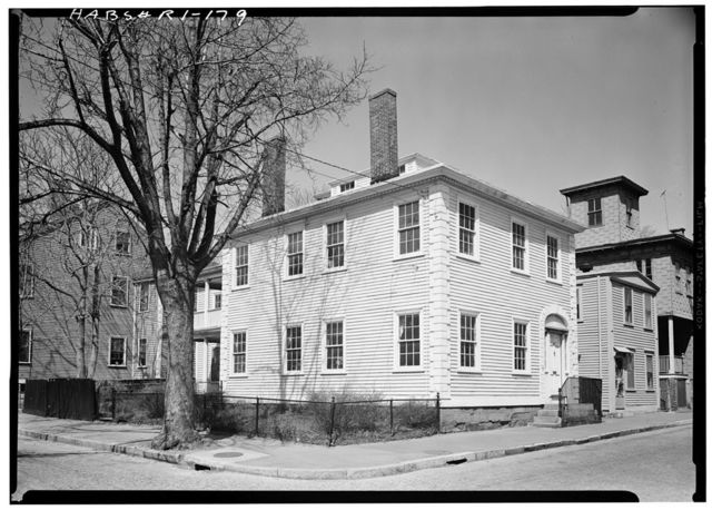 William Greenman House, 24 Thayer Street, Providence, Providence County, RI