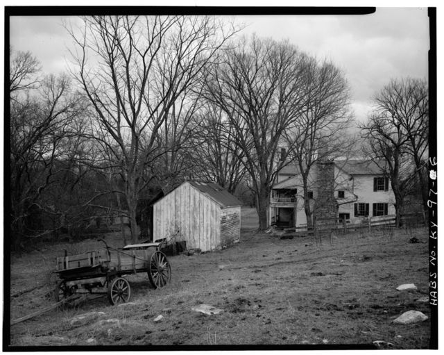 William Guyn House, Mundy's Landing & Pauls Mill Roads, Troy, Woodford County, KY