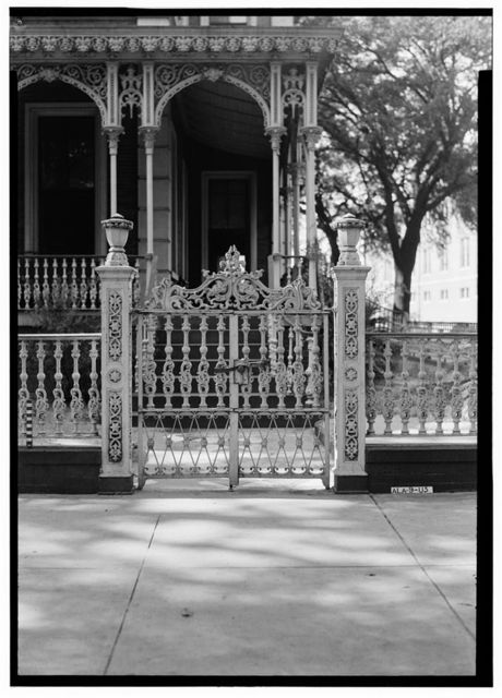 William H. Ketchum House & Gates (Ironwork), 400 Government Street, Mobile, Mobile County, AL