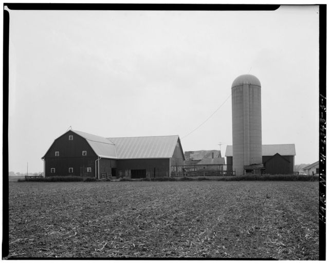 William Hoelscher Farmstead, Barn, 08529 State Route 219, New Knoxville, Auglaize County, OH