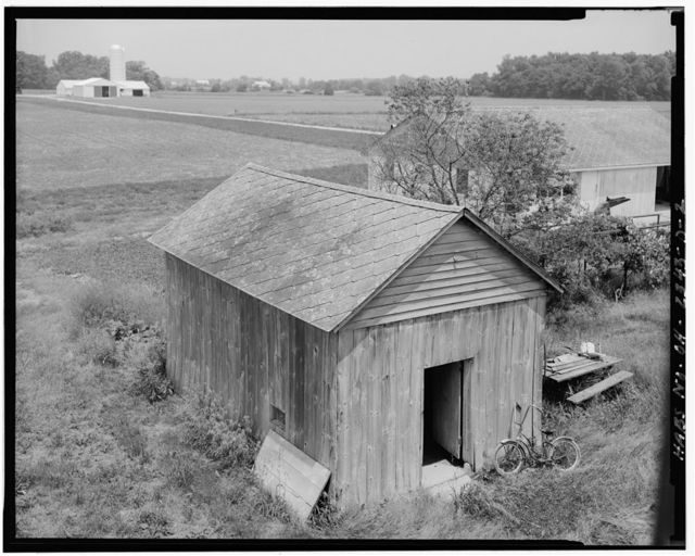 William Hoelscher Farmstead, Smokehouse, 08529 State Route 219, New Knoxville, Auglaize County, OH
